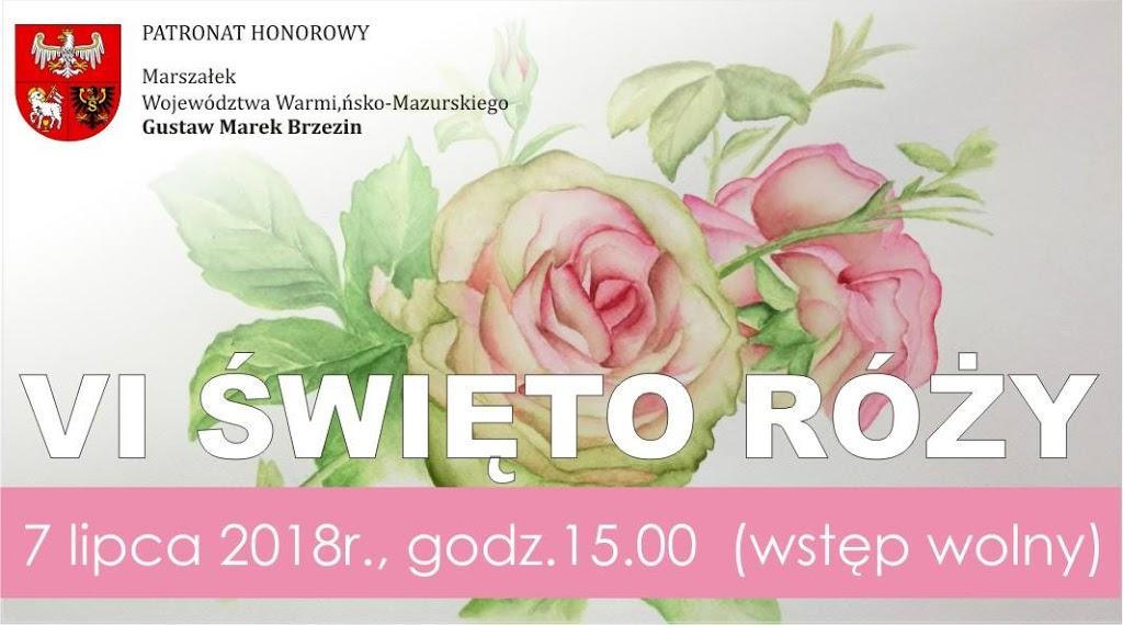 VI Święto Róży w Ogrodach Pokazowych w Marcinkowie