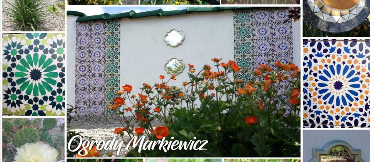Odsłona ogrodu marokańskiego
