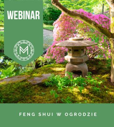 WEBINAR: FENG SHUI W OGRODZIE
