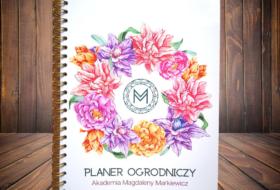 Planer Ogrodniczy Akademii Magdaleny Markiewicz