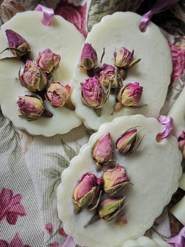 tabliczka róża